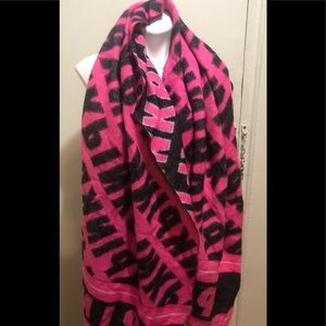Pink Victoria Secret Blanket Scarf